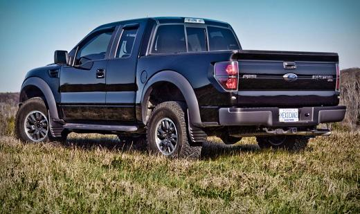 Rain Guards For Trucks >> mud flaps on Raptor - F150online Forums